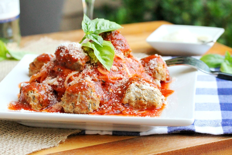 Pork Meatballs with Pasta in Tomato Wine Sauce | Coupon ...